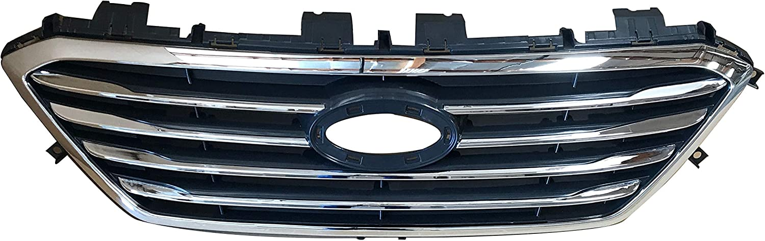 AutoModed Front Upper 有名な Aftermarket 激安卸販売新品 Bumper Grill Replaces 8 Grille
