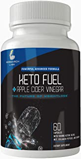2 for 1 Deal Research Labs Keto Fuel & Apple Cider Vinegar. BHB Helps Burn Fat and Promote Weight Loss. Supports Ketosis, Helps Detox, Boosts Energy and Focus