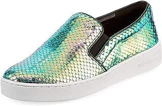 Michael Michael Kors Keaton Slip On Round Toe Leather, Multicolor, Size 11.0