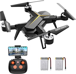 KOOME Foldable Drone with 1080P HD Camera for Adults and Kids, 2.4Ghz RC Quadcopter with Altitude Hold, Gravity Sensor, One Key Start/Land/Return, Easy to Fly for Beginners, Long Control Range