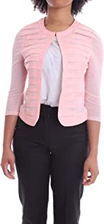 Luxury Fashion   H2o Italia Women EIFA22ROSA Pink Polyester Jacket   Spring-summer 20