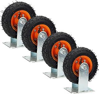 YJJT Vervangend wiel, Werkbank Caster, Zware industriële wielen, Precisie dubbele lagers, Vlotte en flexibele push en trek...