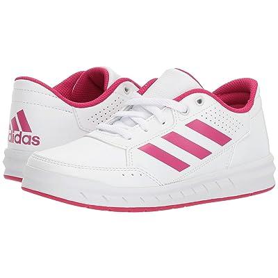 adidas Kids AltaSport (Little Kid/Big Kid) (White/Bold Pink/White) Kids Shoes