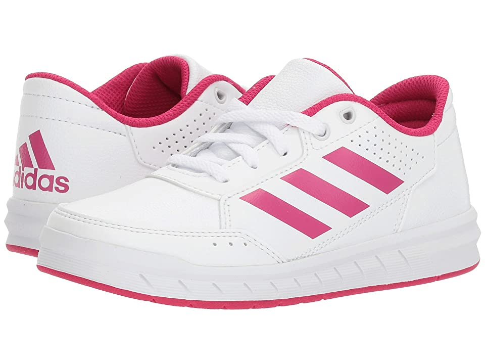 adidas Kids AltaSport (Little Kid/Big Kid) (White/Bold Pink/White) Kids Shoes
