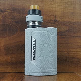 ModShield for Wismec Reuleaux RX GEN3 300W TC Silicone Case & Tank Band ByJojo GEN 3 Skin Cover Sleeve Shield (Grey)