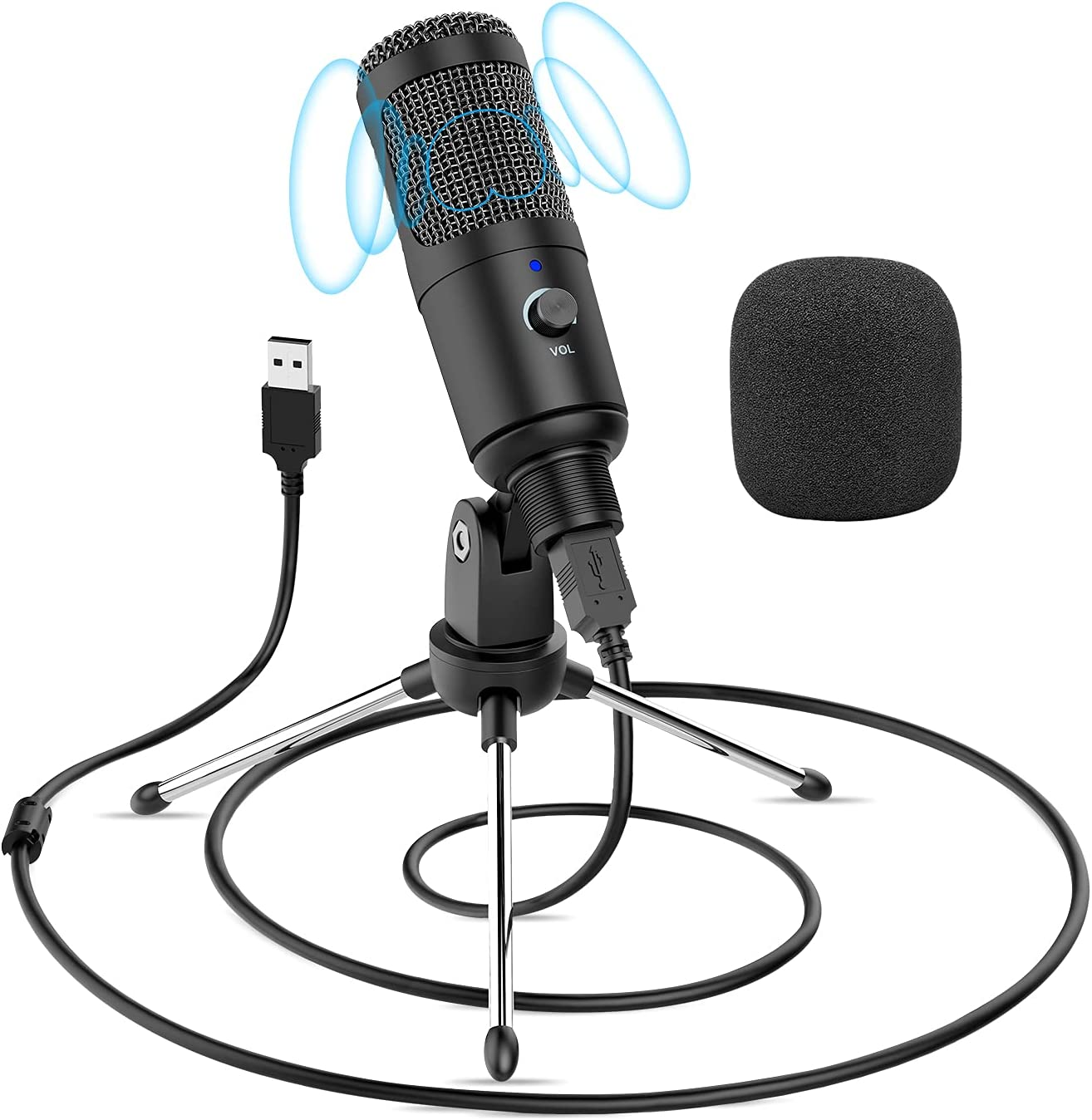 USB Microphone Purchase Noise Reduction PC Tripod National products Stand with