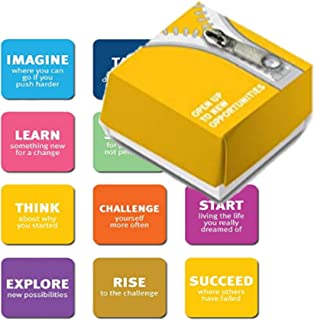 Fridge Magnets 12 Piece New Opportunities Set in a Designed Package The Perfect Creative Gift for New Beginnings, Suitable for Kitchen Refrigerator Decoration, White Boards, Schools, Office and More