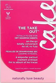 Cake Beauty The Take Out Dry Shampoo, 20 Blotting Sheets