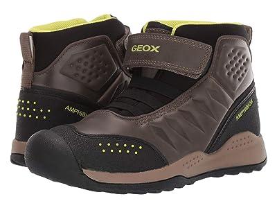 Geox Kids Jr Teram Babx 1 (Big Kid) (Milty/Yellow) Boys Shoes