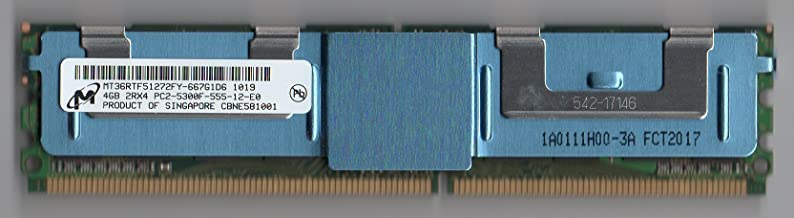 MICRON MT36RTF51272FY-667G1D6 PC2-5300F DDR2 667 4GB FBDIMM 2RX4 (for Server ONLY)