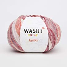 Washi Yarn, 70% Polyester - 30% Viscose, 100 grs. / 3 oz. ½ 100 MTS. / 109 yds. (Emerald Green)