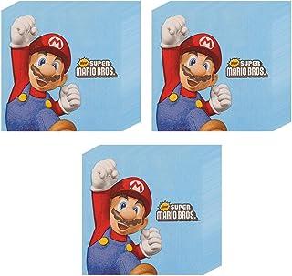 Super Mario Party Beverage Napkins–60ピース