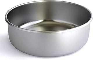 وعاء للكلاب مصنوع في الولايات المتحدة الأمريكية من الفولاذ المقاوم للصدأ من باسيس بت، حجم كبير جدًا (18 كوب)، وعاء واحد