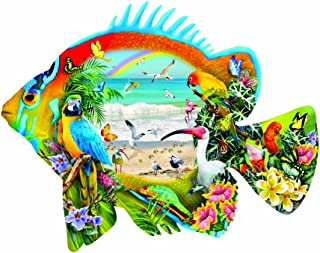 Beachfront 1000 pc Shaped Jigsaw Puzzle by SunsOut