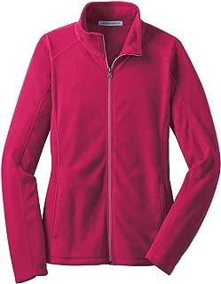 Ladies Microfleece Jacket. L223 Dark Fuchsia