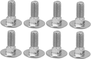 50x M8x40 Nuts and Washers Lengths 20-200mm selection 50 x Carriage Bolts M8 x 40 Round Head Square Neck Screw