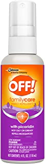 OFF! Family Care Insect & Mosquito Repellent II, Bug Spray with Picaridin, Not Oily or Greasy, 4 oz.