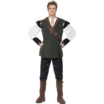 Smiffys (SM29076-L) - Disfraz arquero para hombre, talla L: Amazon ...