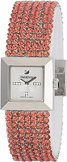 ساعة رسمية معدنية بعرض انالوج للنساء من سواروفسكي- 1183537