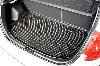J&J AUTOMOTIVE Premium Antirutsch Gummi Kofferraumwanne ix20 ab 2010 hohes Rand