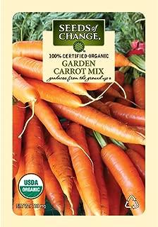 Seeds of Change Certified Organic Garden Carrot Mix