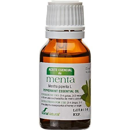 Soria Natural Esencia Menta Ácidos Grasos Esenciales - 15 ml