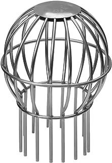 Blattfilter-Rinnensieb /& Fallrohrschutz Rinnenschutz Besser als Dachrinnensieb 6er-Pack Netzblattschutz mit bis zu 4in Durchmesser Rinnenablaufabdeckung /& Rinnenabflussregenschutz