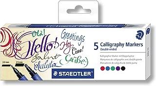Staedtler Caligraphy Duo Markers, 3002C5