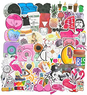 50 PCS Girl Cute Lovely Laptop Stickers Pink Decorative-Stickers for Water Bottles Phone Sticker Decal,Trendy Stickers for...