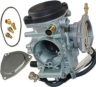 PROCOMPANY Carburetor for Yamaha YFM250 YFM350 YFM400 YFM450 4 Stroke ATVs YFM 250 350 400 450 OEM 5FU-E4101-01-00