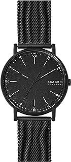 Skagen Signatur Men's Black Dial Stainless Steel Analog Watch - SKW6579