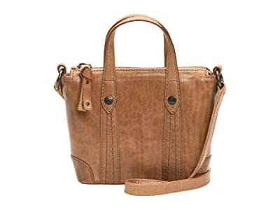 Frye Melissa Mini Crossbody Shopper (Beige) Cross Body Handbags