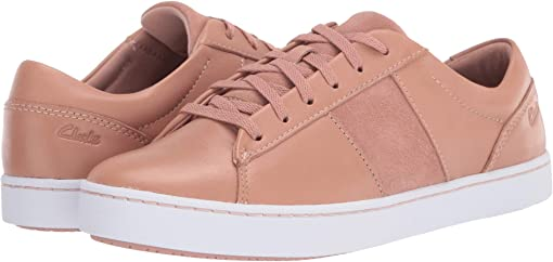 Rose Leather/Suede Combi