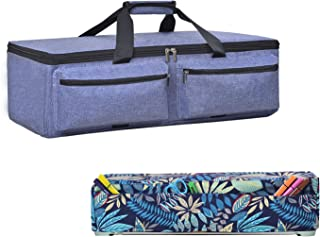 Die-Cutting Machine Carrying Bag, Foldable Bag Compatible with CRI Cut Explore Air and Maker Come with Dust Cover (Purple)
