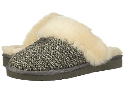 UGG Cozy Knit Slipper (Charcoal) Women
