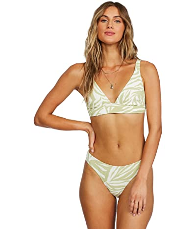 Billabong Jungle Town Banded Triangle Bikini Top