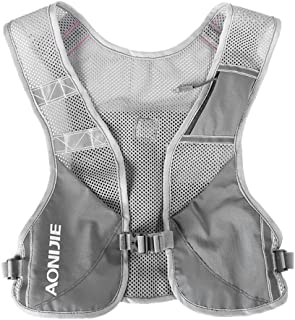 Lixada Premium Reflective Running Vest Give Sport Water Bottle for Running Cycling Clothes for Women Men