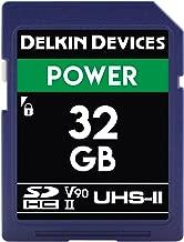 Delkin DDSDG200032G Devices 32GB Power SDHC UHS-II (U3/V90) Memory Card