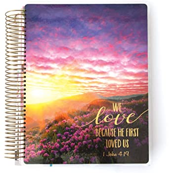 Paper House Productions PL2000 Faithful 12 Month Planner, Undated Laminated Cover