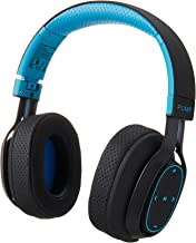 BlueAnt - Pump Zone Over Ear HD Wireless Headphones, 30+ Hour Battery, Mega Bass and Enhanced Sound Purity (Blue)