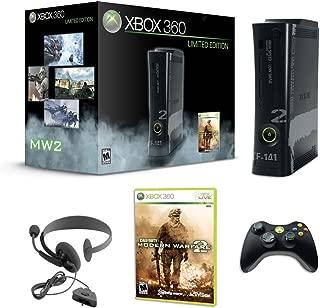 Xbox 360 250GB Call of Duty Modern Warfare 2 Black Console