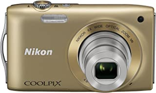 Nikon デジタルカメラ COOLPIX (クールピクス) S3300 スイートゴールド S3300GL
