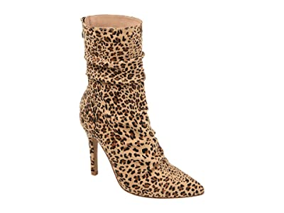 Journee Collection Markie Bootie (Leopard) Women