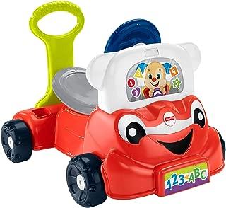 Fisher-Price Laugh & Learn 3-in-1 Smart Car (Renewed)