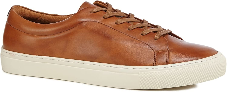 J By Jasper Conran Men Tan Leather 'Sorrento' Trainers