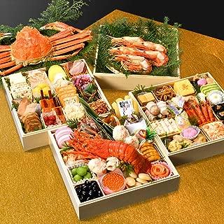 小樽きたいち 海鮮おせち 絢爛 特大8.5寸四段重 全51品 (1月2日(木))