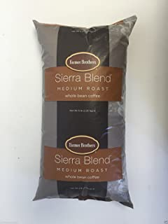 Farmer Brothers Sierra Blend Medium Roast Whole Bean Coffee (1 bag/5 lbs)