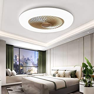 Sunifier Bladeless Ceiling Fan with Light, Remote Control...