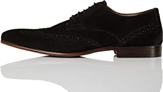 Marchio Amazon - find. - Smart Leather, Scarpe stringate brouge Uomo