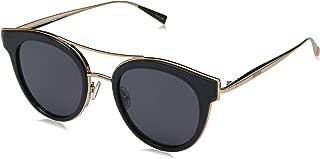Max Mara Women's Mm Ilde Iv Polarized Oval Sunglasses, GREY, 48 mm